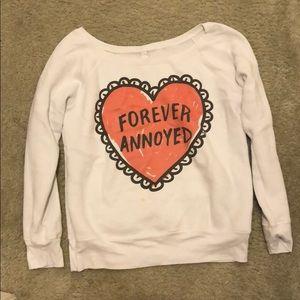 Funny slogan sweater
